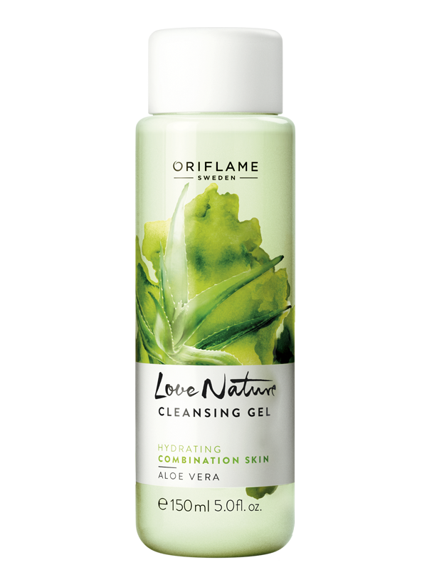 Limpiadora en Gel con Aloe Vera  Love Nature
