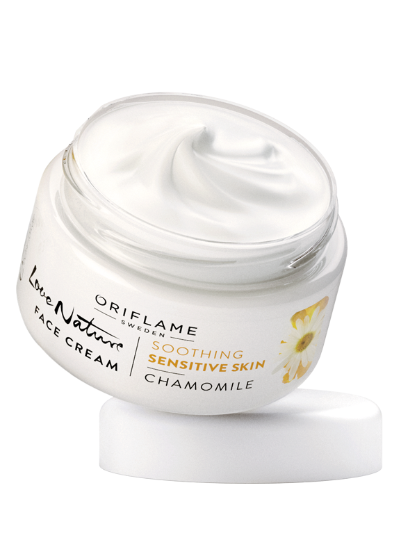 Crema Facial con Manzanilla  Love Nature