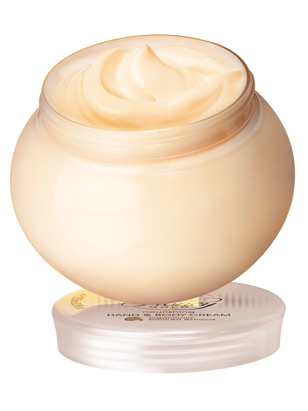 Crema Nutritiva para Manos  y Cuerpo Milk & Honey Gold