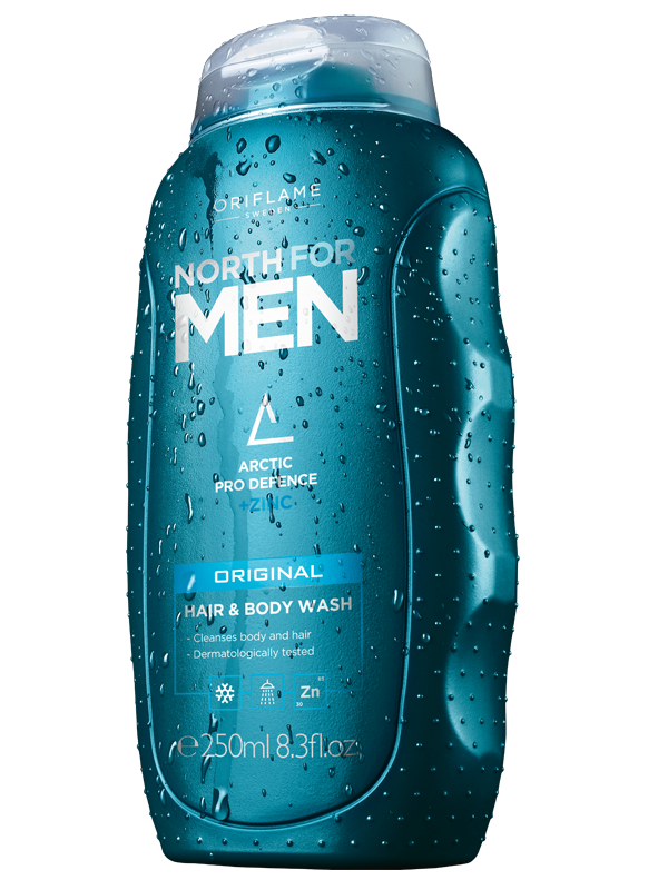 Gel de Ducha para Cabello y Cuerpo North for Men Original