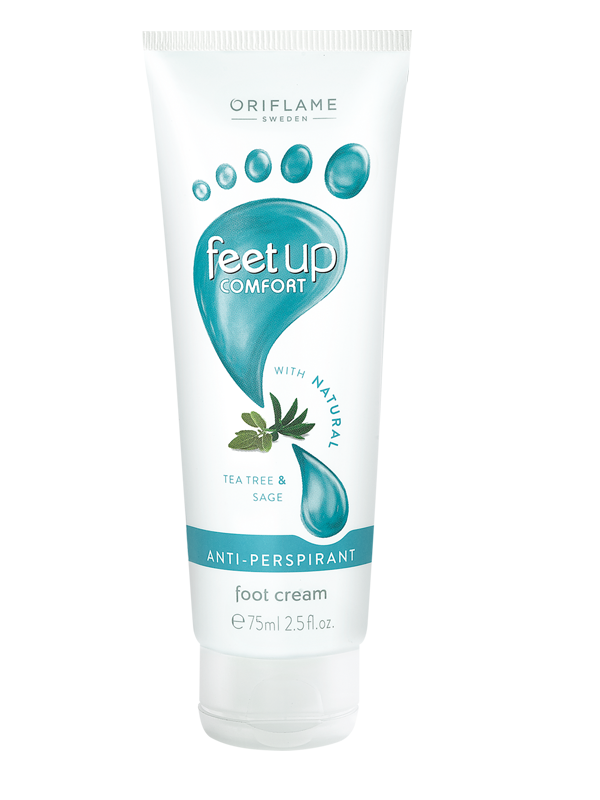 Crema Refrescante Antitranspirante para Pies  Feet Up Comfort