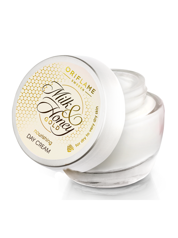 Crema Nutritiva de Día Milk & Honey Gold