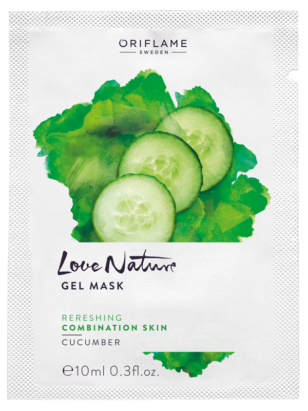 Mascarilla en Gel con Extracto de Pepino Love Nature