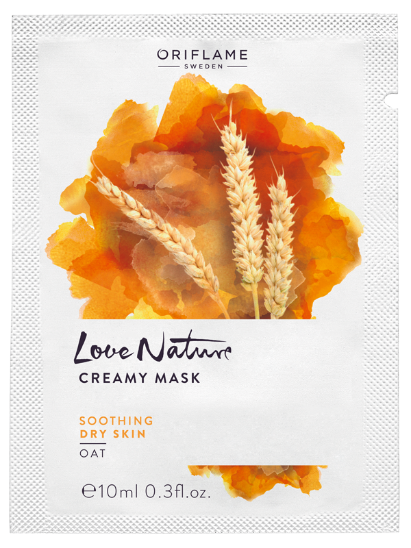 Mascarilla Cremosa con Extracto de Avena Love Nature
