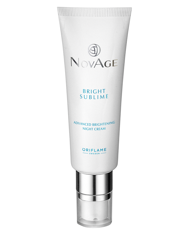 Crema de Noche Aclaradora Antimanchas NovAge Bright Sublime