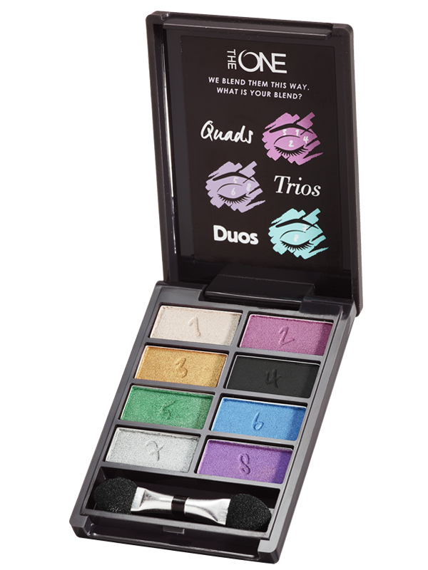 Paleta de Sombras para Ojos The ONE Express