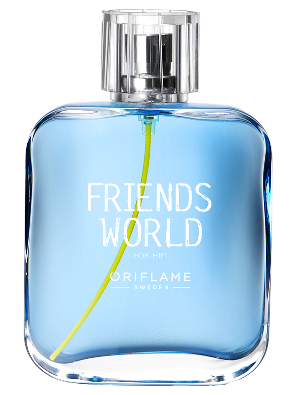 Friends World para Él Eau de Toilette