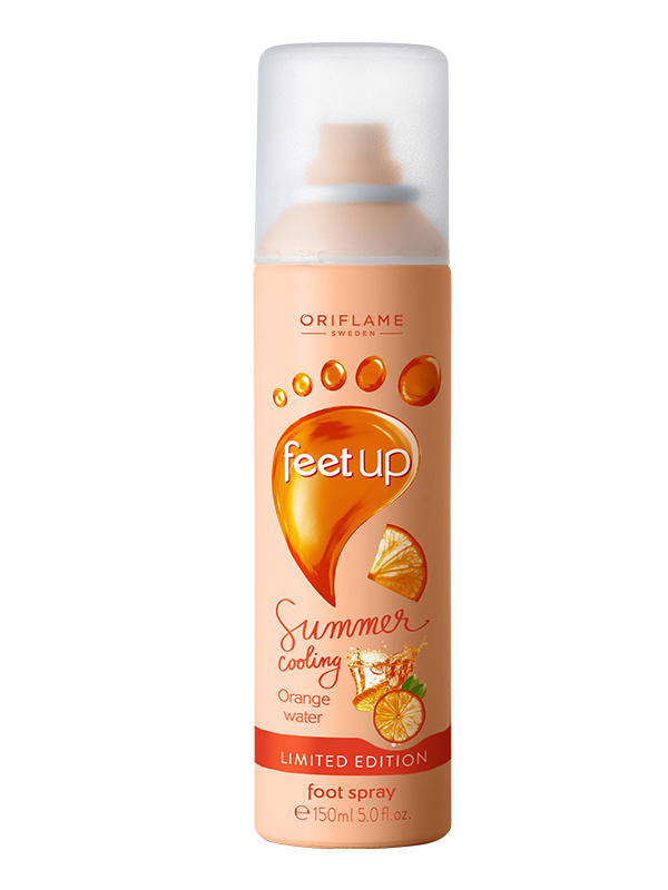 Spray para Pies con Agua de Naranja Feet Up Summer Cooling