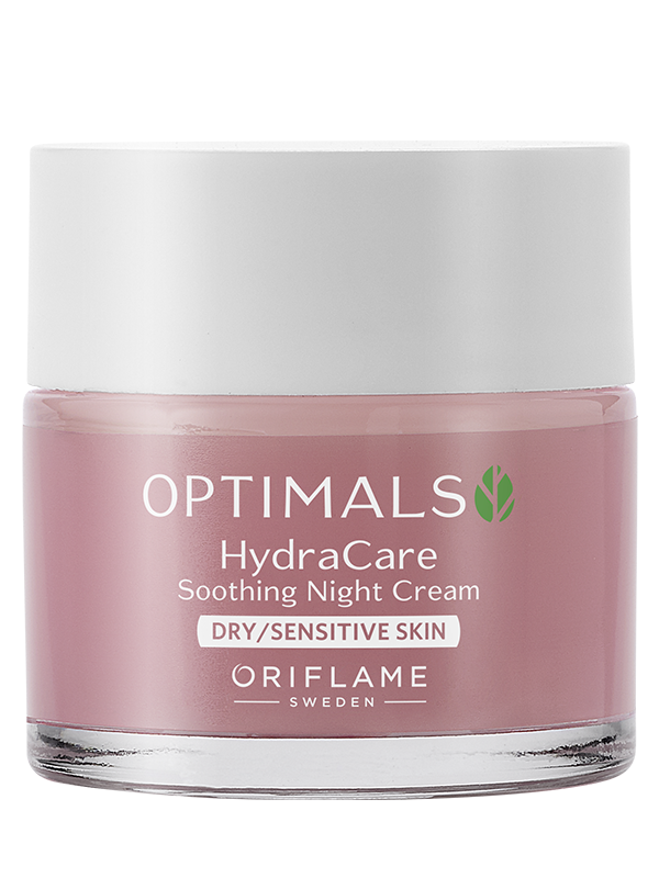 Crema de Noche para Piel Seca y Sensible  Optimals Hydra Care